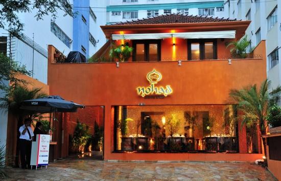 Restaurante sp road for Fachada para restaurante